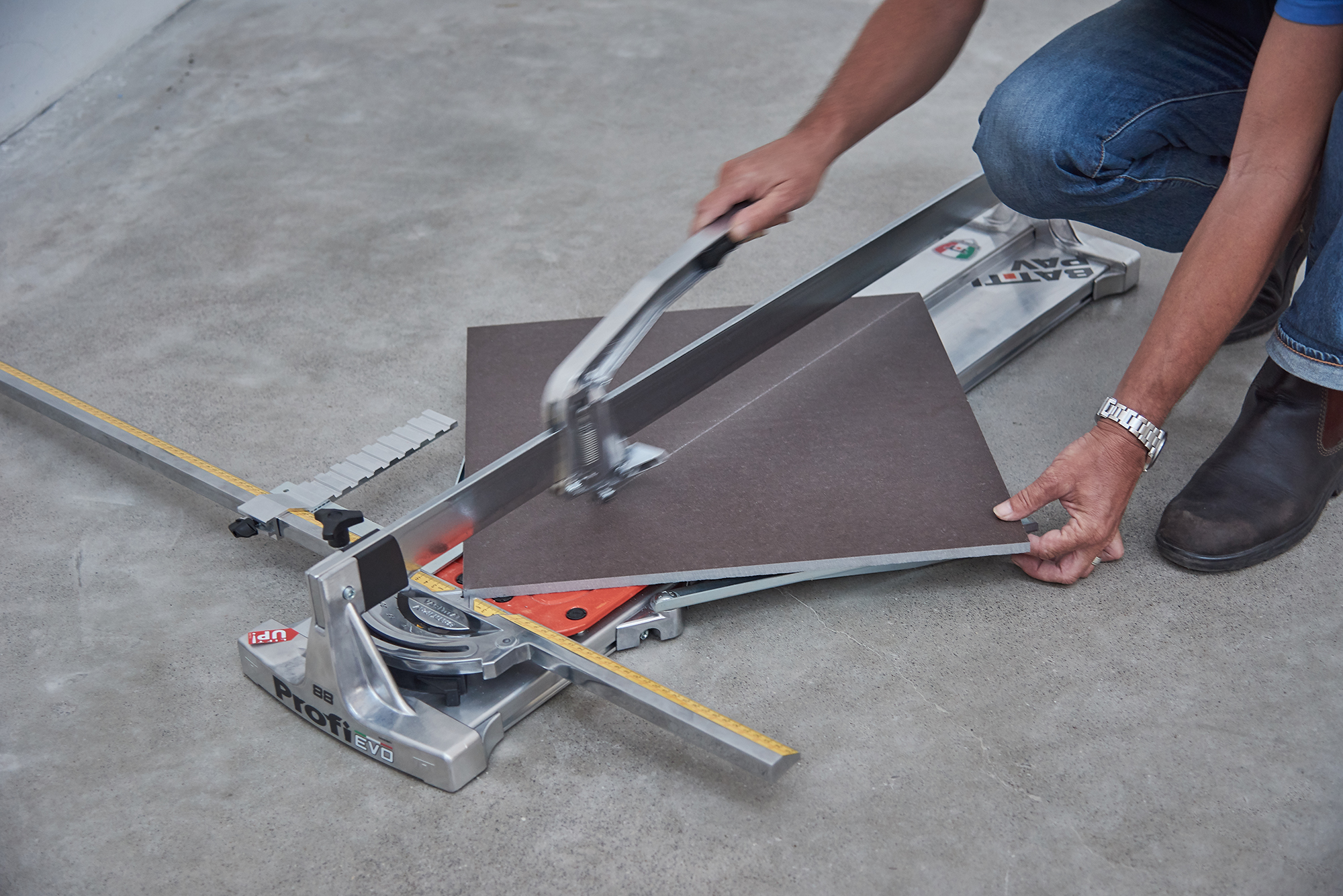 PROFI EVO: Professional Manual Tile Cutter